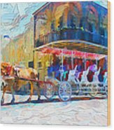 New Orleans Series 53 Wood Print