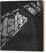 New Orleans Shadowplay Wood Print