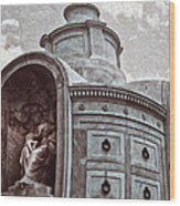 New Orleans - St.louis Cemetery Wood Print