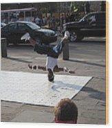 New Orleans - Street Performers - 121218 Wood Print