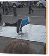 New Orleans - Street Performers - 121226 Wood Print