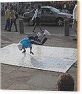 New Orleans - Street Performers - 121227 Wood Print