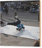 New Orleans - Street Performers - 121230 Wood Print