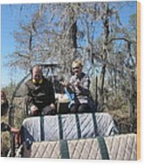 New Orleans - Swamp Boat Ride - 1212103 Wood Print