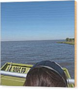New Orleans - Swamp Boat Ride - 1212162 Wood Print