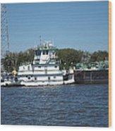 New Orleans - Swamp Boat Ride - 121229 Wood Print