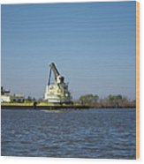 New Orleans - Swamp Boat Ride - 121230 Wood Print