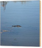New Orleans - Swamp Boat Ride - 121285 Wood Print