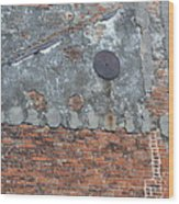 New Orleans Wall Wood Print