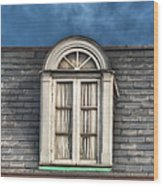 New Orleans Window Wood Print by Brenda Bryant