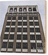 Vacant Downtown Building Los Angeles 3 Wood Print