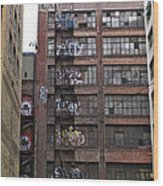 New Photographic Art Print For Sale Downtown Los Angeles 5 Wood Print