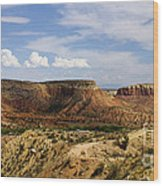 Ghost Ranch Landscape New Mexico 12 Wood Print