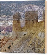 New Photographic Art Print For Sale Ghost Ranch New Mexico 9 Wood Print