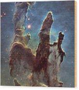 New Pillars Of Creation Hd Tall Wood Print