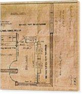 New Post Office Plans 1961 Wood Print