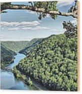 New River Wood Print