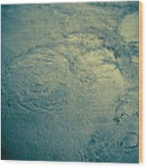 New River Water Wood Print