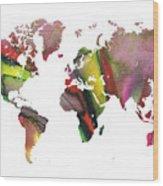 New World Order Wood Print