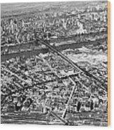 New York 1937 Aerial View  Wood Print