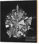 New York 2 Circagraph Wood Print