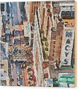 New York 5 Wood Print