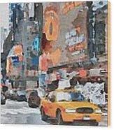 New York 6 Wood Print