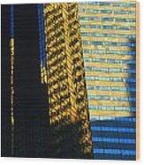 1984 New York Architecture No2 Wood Print