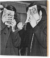 New York Arrest, 1968 Wood Print