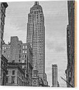 New York City - Usa Wood Print