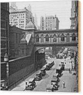 New York City Bridge Of Sighs Wood Print