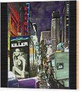 New York City Wood Print by Mike McGlothlen