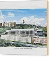 New York City New York - The Polo Grounds - 1900 Wood Print