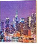 New York City - Skyline 0 Wood Print