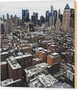 New York City Skyline 20 Wood Print
