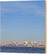 New York City Skyline Wood Print by Olivier Le Queinec