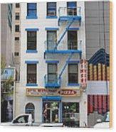 New York City Storefront 5 Wood Print