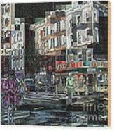 New York City Streets - Ritz Diner Wood Print
