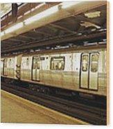 New York City Subway 2 Wood Print