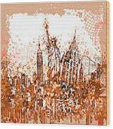 New York City Tribute 4 Wood Print