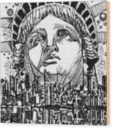 New York City Tribute Wood Print