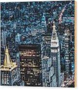 New York City Triptych Part 1 Wood Print