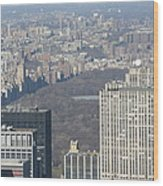 New York City - View From Empire State Building - 121211 Wood Print