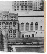 New York Curb Market, 1921 Wood Print