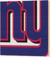 New York Giants Football 2 Wood Print
