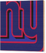 New York Giants Football Wood Print