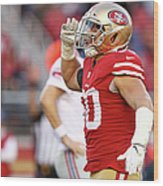 New York Giants V San Francisco 49ers Wood Print