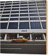 New York Grace Building Wood Print
