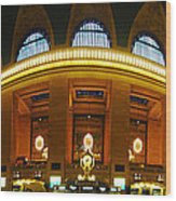 New York - Grand Central Station Wood Print