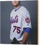 New York Mets Photo Day Wood Print